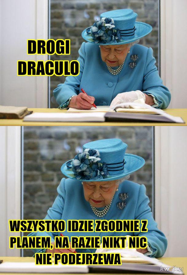 Pani Królowa pisze listy