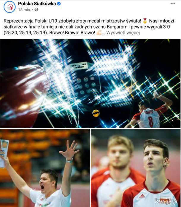 We are the champions! Gratulacje!