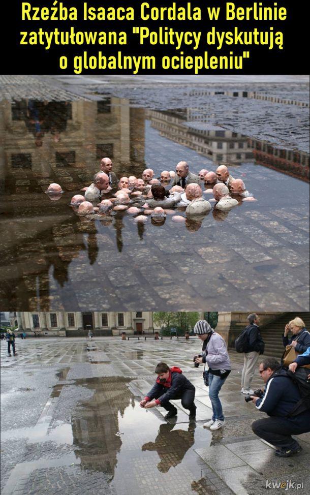 """""""Politycy dyskutują o globalnym ociepleniu"""""""