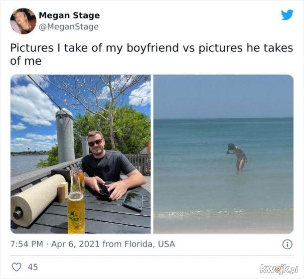 """""""Zdjęcia, które robię mojemu chłopakowi vs zdjęcie, które robi mi"""", obrazek 17"""