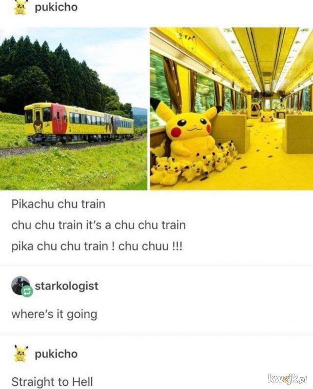 Pociąg pikachu