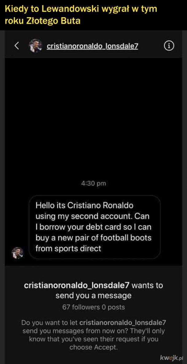 Nawet Ronaldo nie ma łatwo