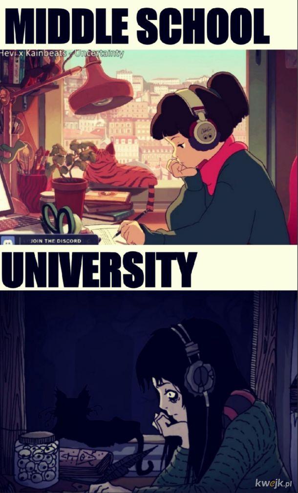 ah te studia, mimo to fajnie było :)