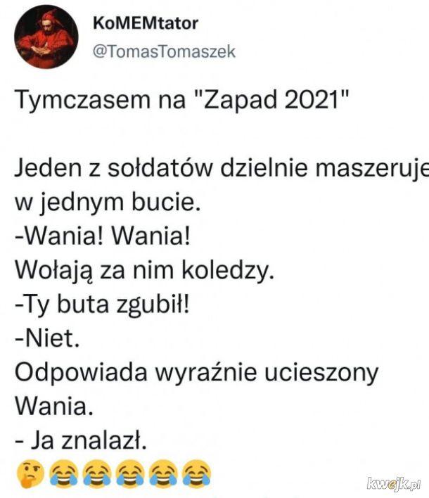 """Tymczasem na """"Zapad 2021"""""""