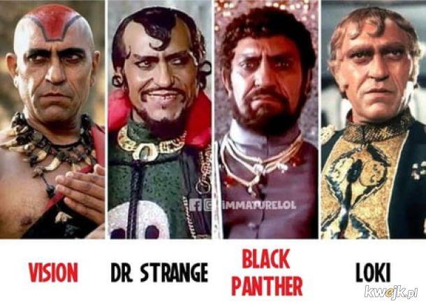 Marvel sprzed lat.
