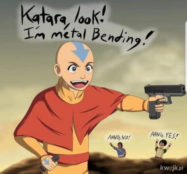 Zginacz metalu.