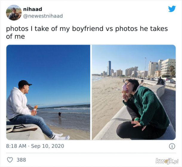 """""""Zdjęcia, które robię mojemu chłopakowi vs zdjęcie, które robi mi"""", obrazek 12"""