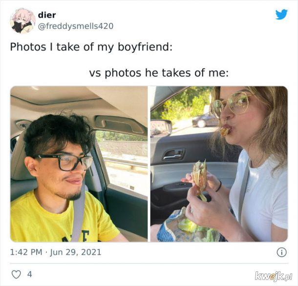"""""""Zdjęcia, które robię mojemu chłopakowi vs zdjęcie, które robi mi"""", obrazek 19"""