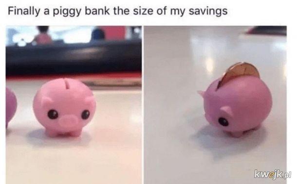inflacja jest pod kontrolą, moje oszczędności też