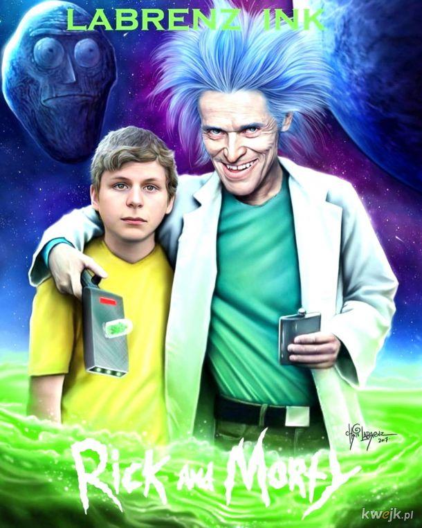 Rick and Morty, ekranizowane.