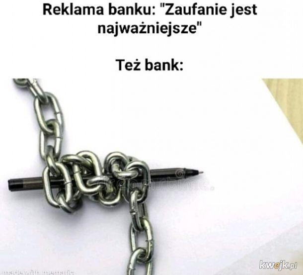 Zaufanie w banku