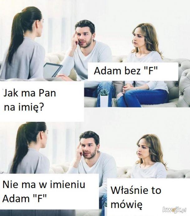 Jak ma Pan na imię?