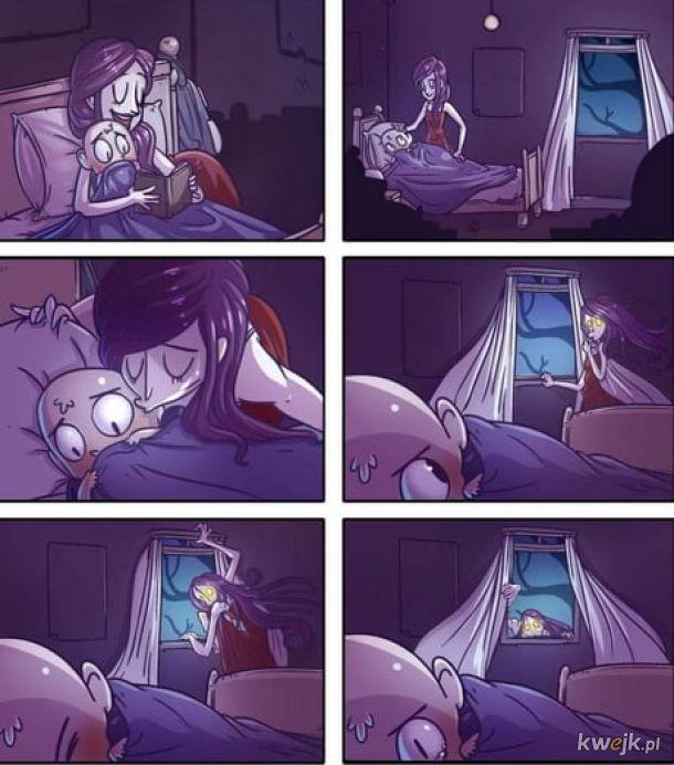 Codziennie śpię przy otwartym oknie.