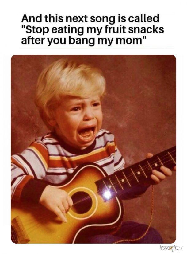 Serenada dzieciaka samotnej madki.