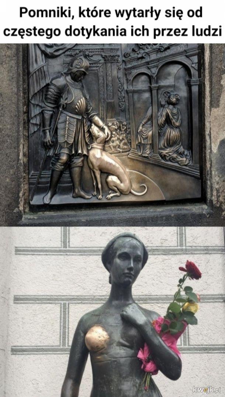 Wytarte pomniki