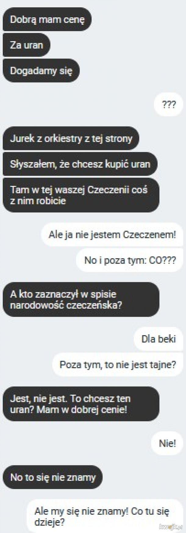 Uran dla Czeczenów