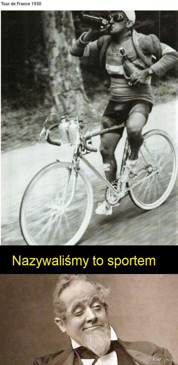 Kiedyś to był sport na pełnej kurtyzanie