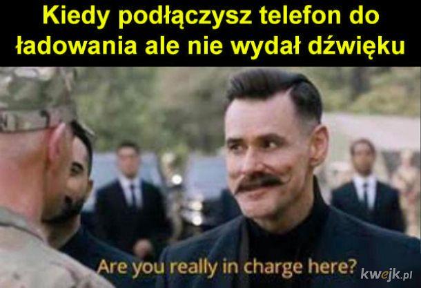 Ładowanie telefonu