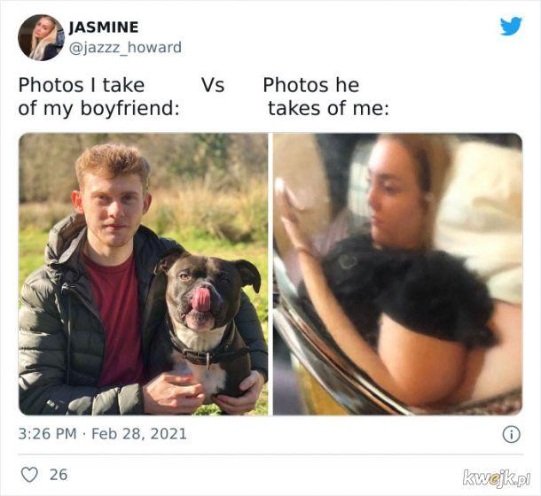 """""""Zdjęcia, które robię mojemu chłopakowi vs zdjęcie, które robi mi"""", obrazek 14"""