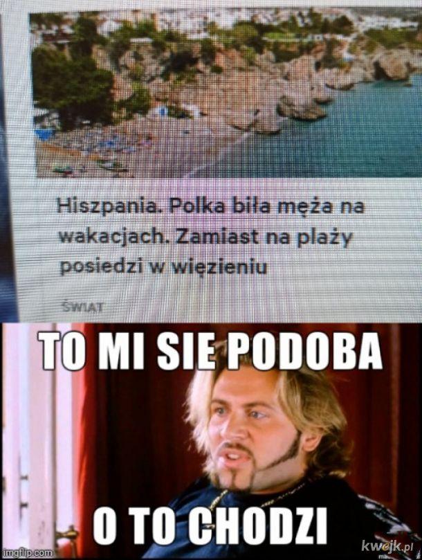 Polka  na wakacjach