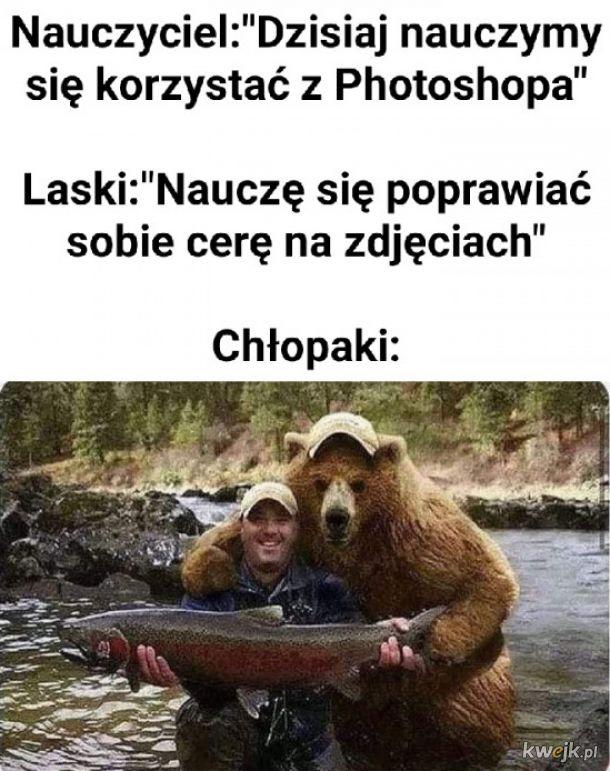 Nauka korzystania z photoshopa