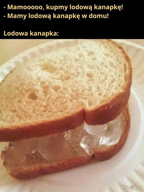 Lodowa kanapka