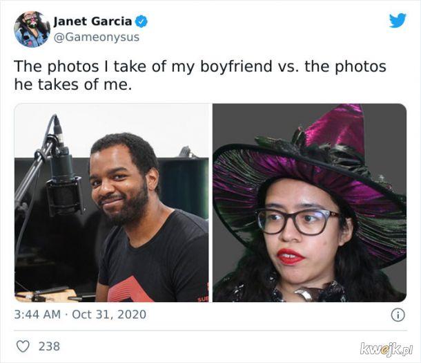 """""""Zdjęcia, które robię mojemu chłopakowi vs zdjęcie, które robi mi"""", obrazek 18"""