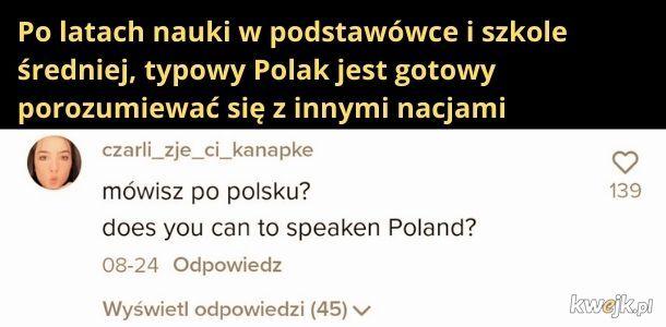 Poziom w polskich szkołach taki jest