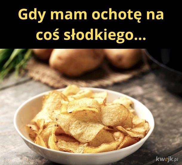 Coś słodkiego, czyli chipsy