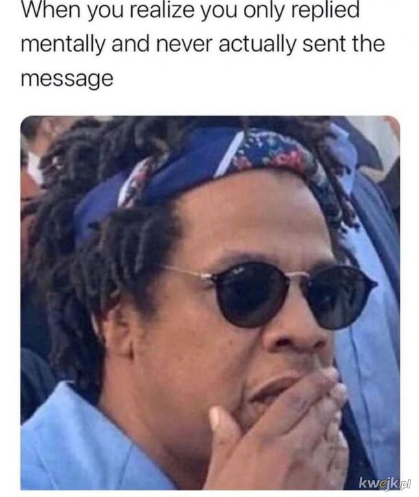 Ileż to razy tak...