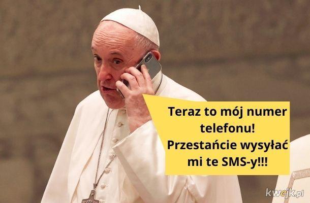 SMS do papieża