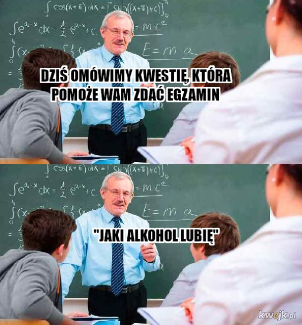 Pan profesor to umie wykładać