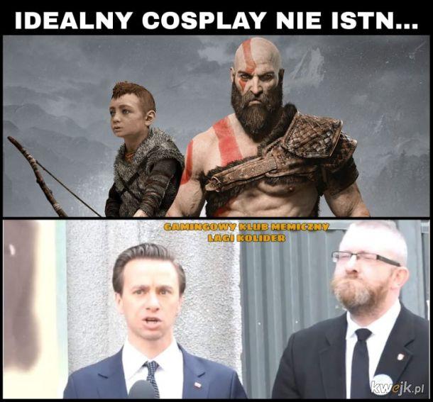 Idealny cosplay.