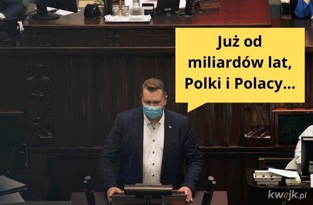 Panie i Panowie, Minister Edukacji przemówił!