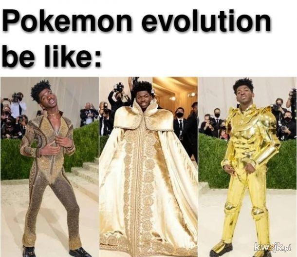 Ewolucja pokemona