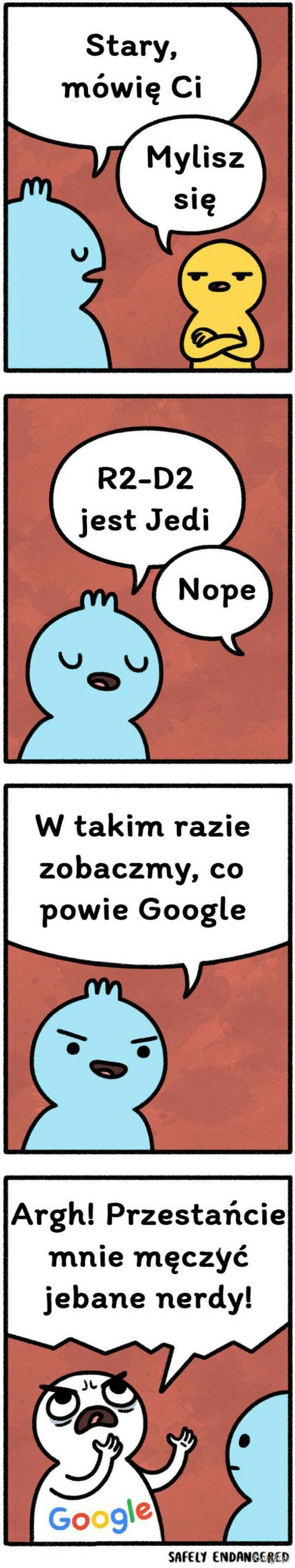 Google prawde ci powie