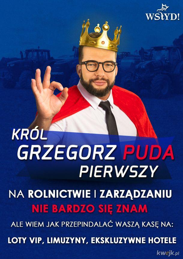 Król Grzegorz Puda Pierwszy
