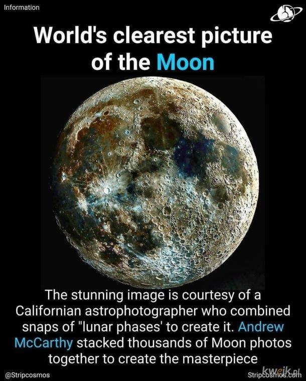 najlepsze zdjęcie księżyca