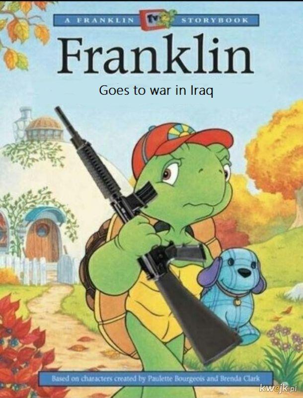 Franklin wybiera się na wojnę do Iraku