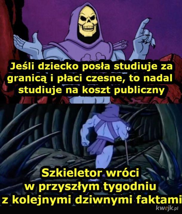Szkieletor i jego fakty