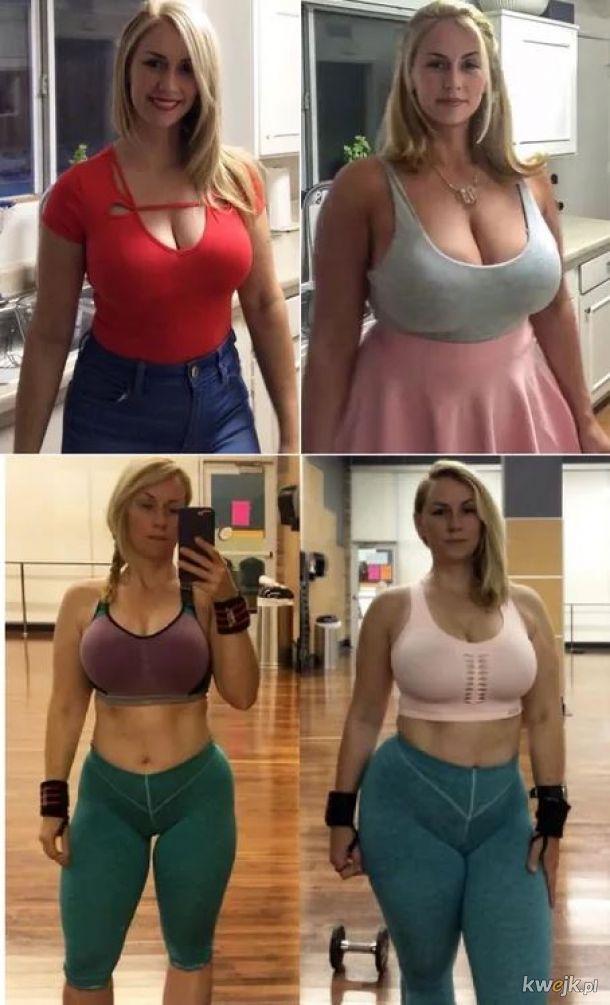 Przed i po ciąży (SHE THICC BOI!)