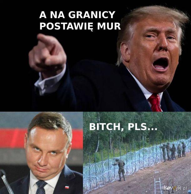Patrz Donald jak to się robi w Polsce
