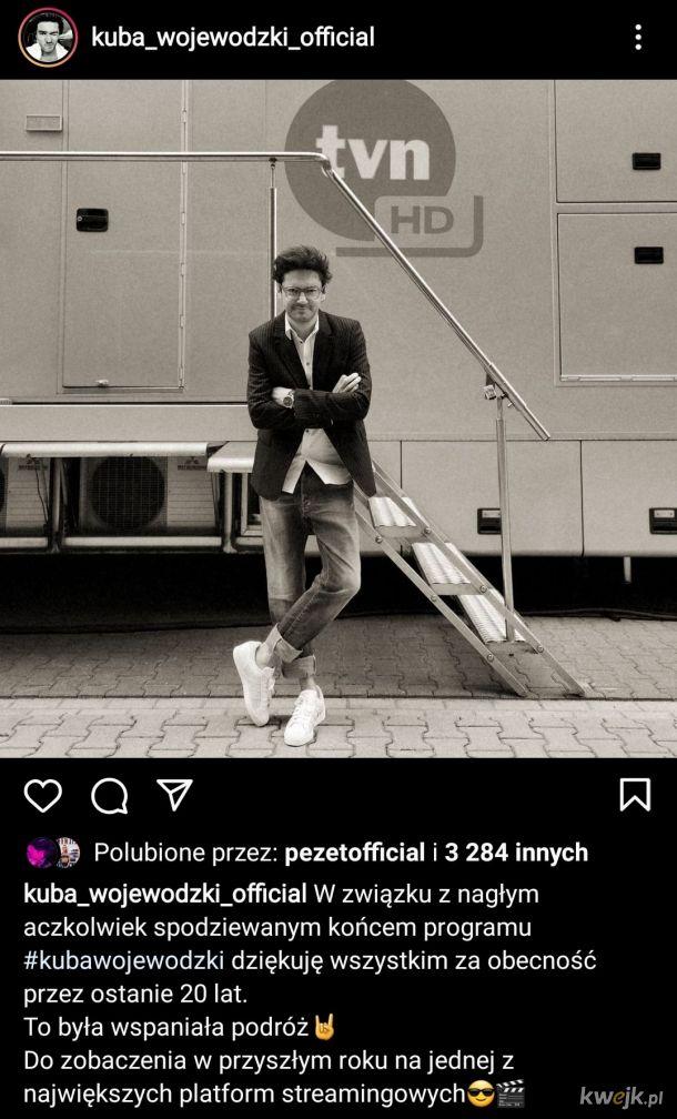 Wojewódzki żegna się z TVN
