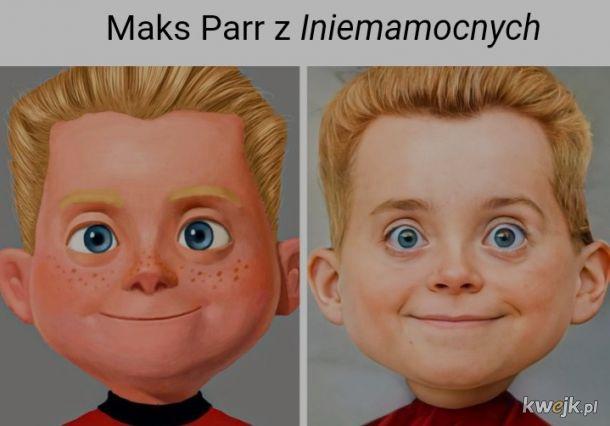 """Sztuczna inteligencja przerobiła """"sztuczne"""" twarze, aby wyglądały jak ludzie: z portretami wyszło super, a z kreskówkami źle, obrazek 8"""