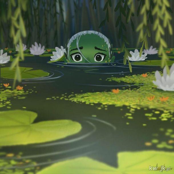 Zielona syrena. Komiks autorstwa Andy'ego Ivanova
