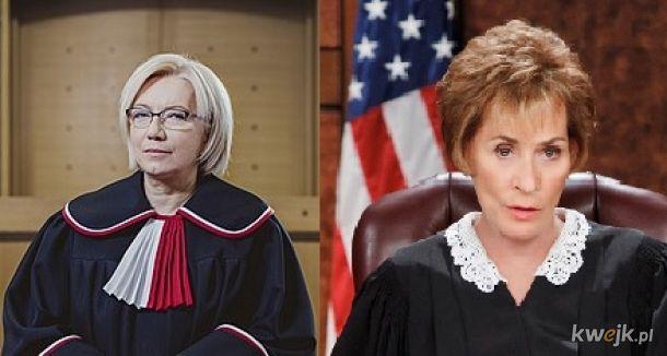 Prezes Julia i Judge Judy