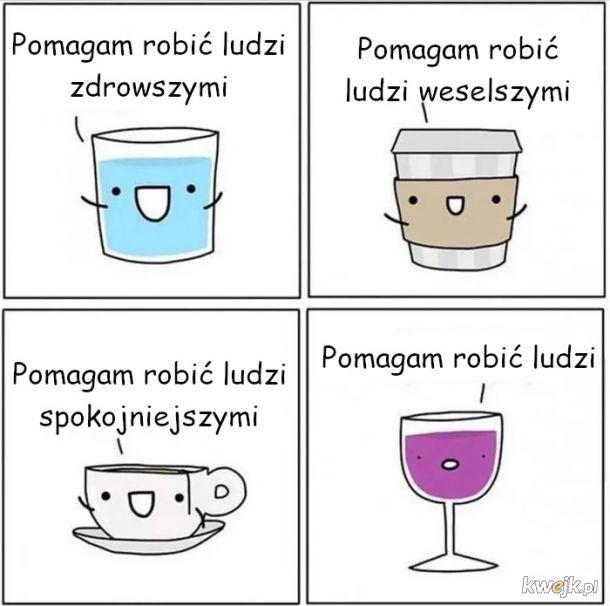 Różne rodzaje napojów