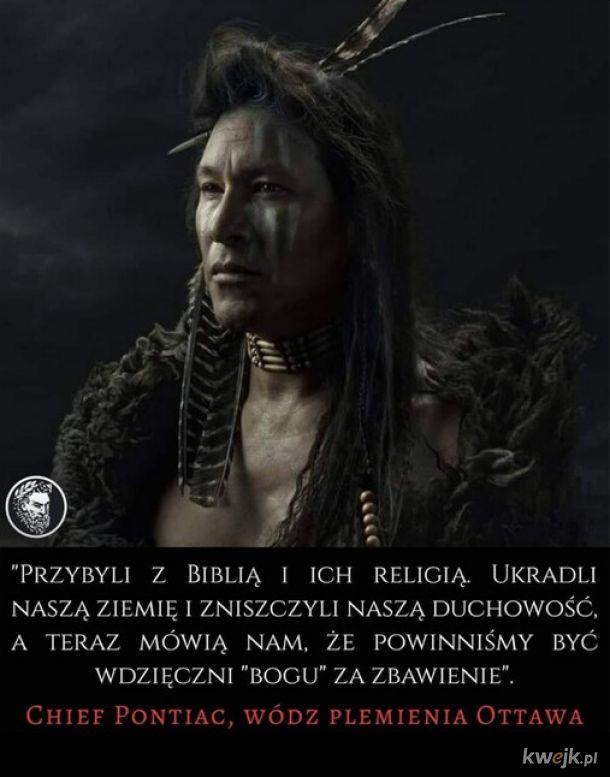 Wódz plemienia Ottawa
