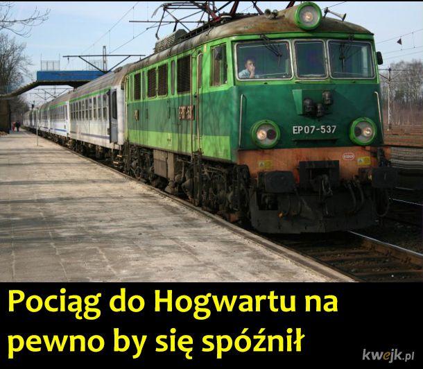 Gdyby akcja Harry'ego Pottera toczyła się w Polsce