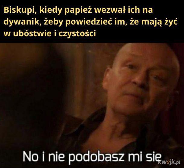 Nie rozumie specyfiki polskiego kościoła